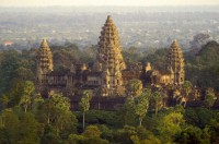 Cambodia The Asian Highlight - The North motorcycle tour to  the stone faces of Angkor Wat