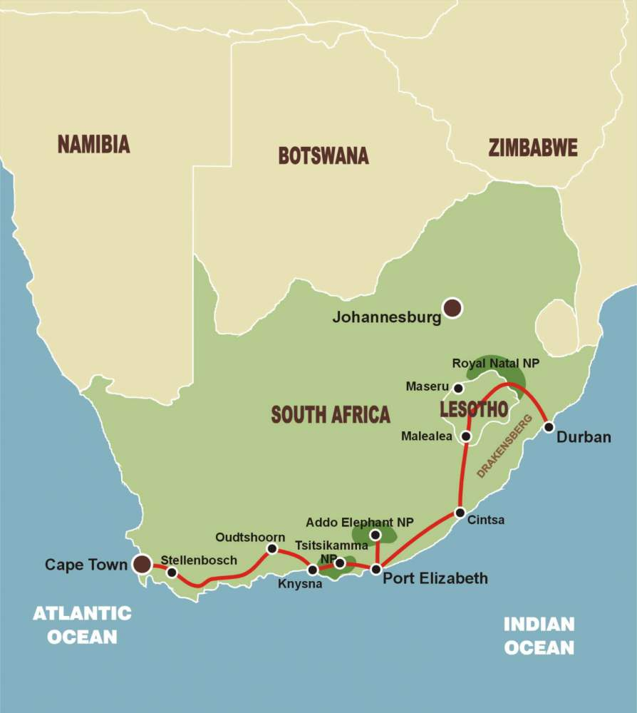 sudafrika lesotho garden route lodgesafari With katzennetz balkon mit garden tour südafrika