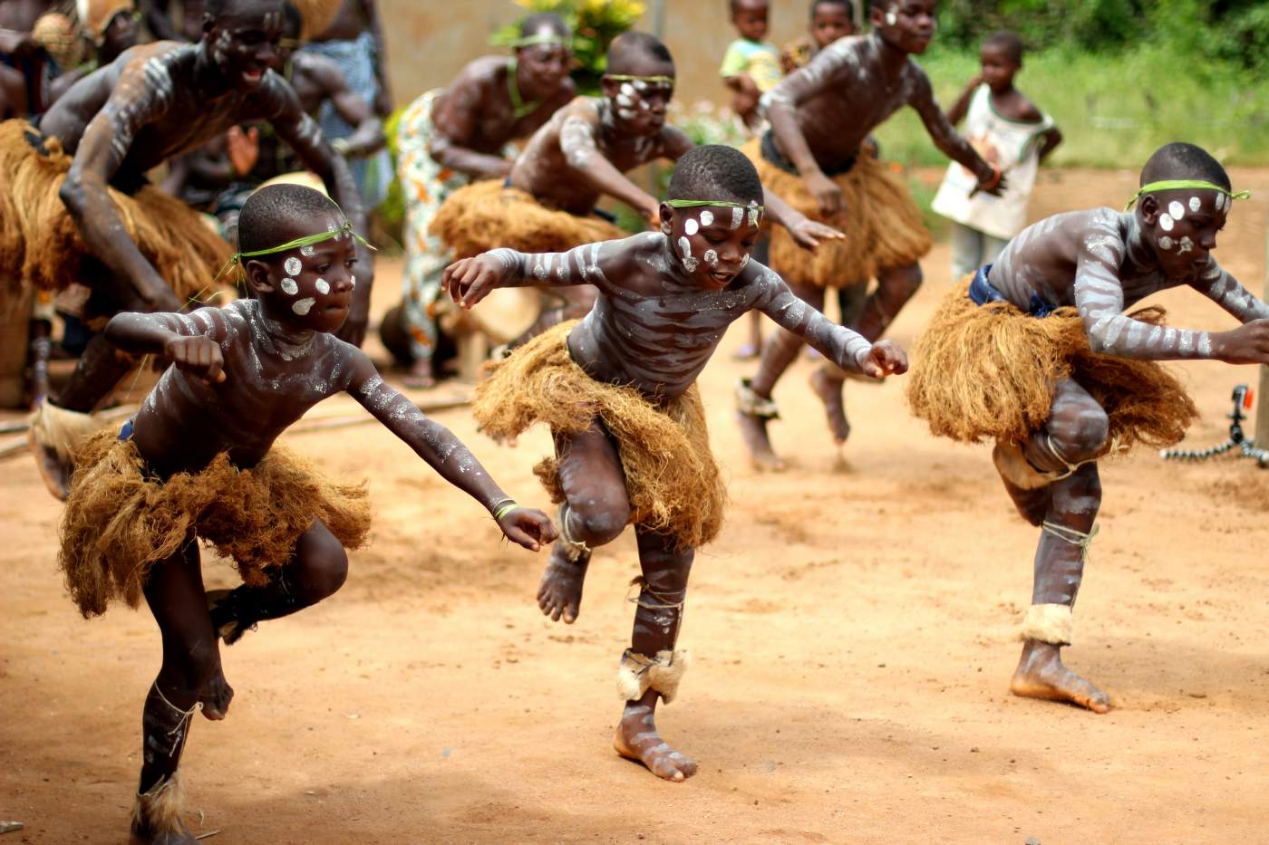 kakaoplantagen in afrika