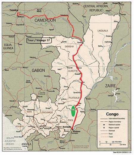 kongo fluss karte deutsch