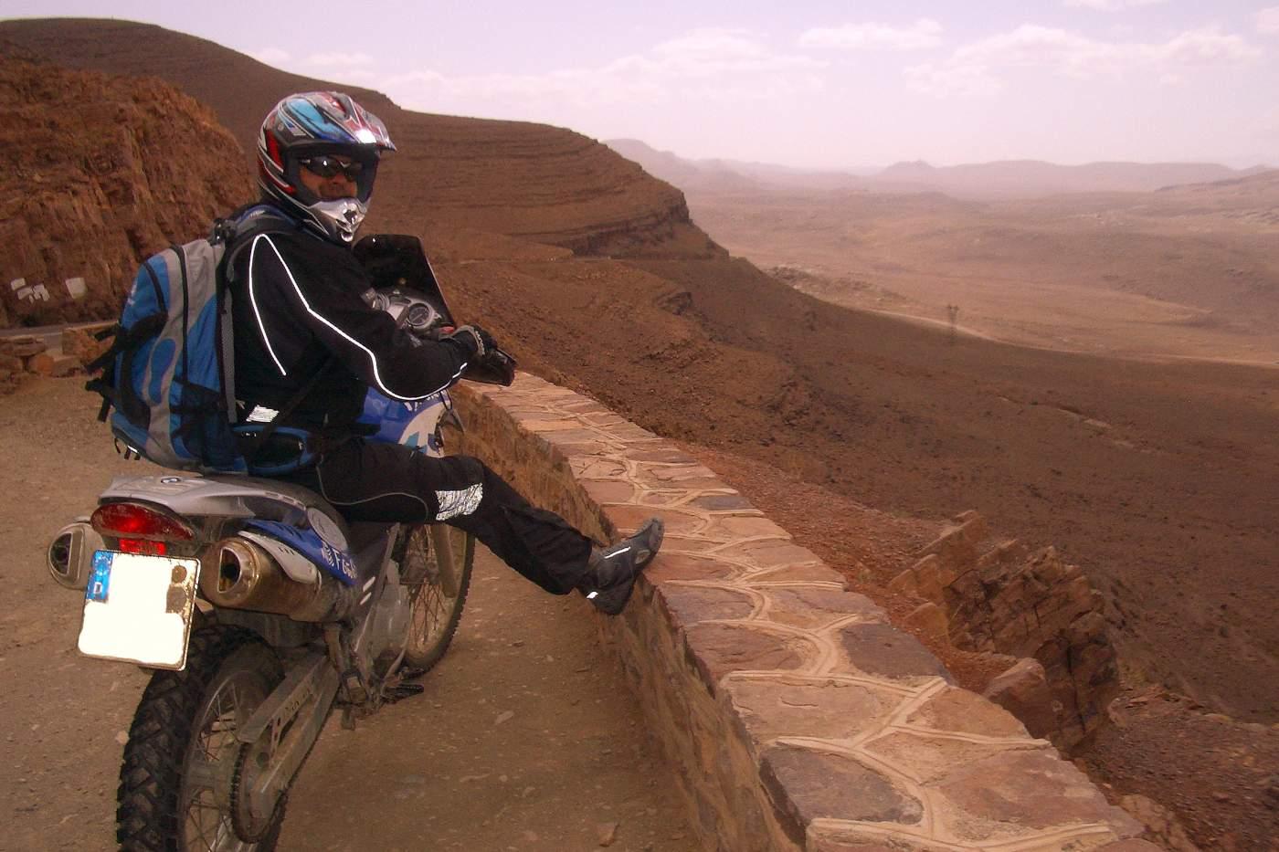 Marokko Motorrad Reise Straßentour
