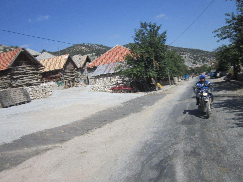Türkei Dörfer wie vor einder anderen Zeit