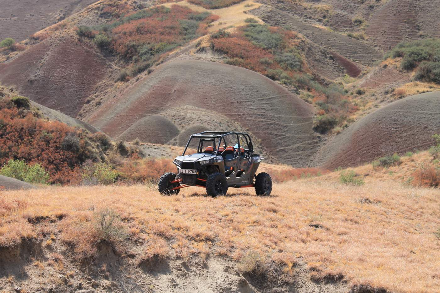 Georgien Side by Side Reise Offroad abenteuer Polaris