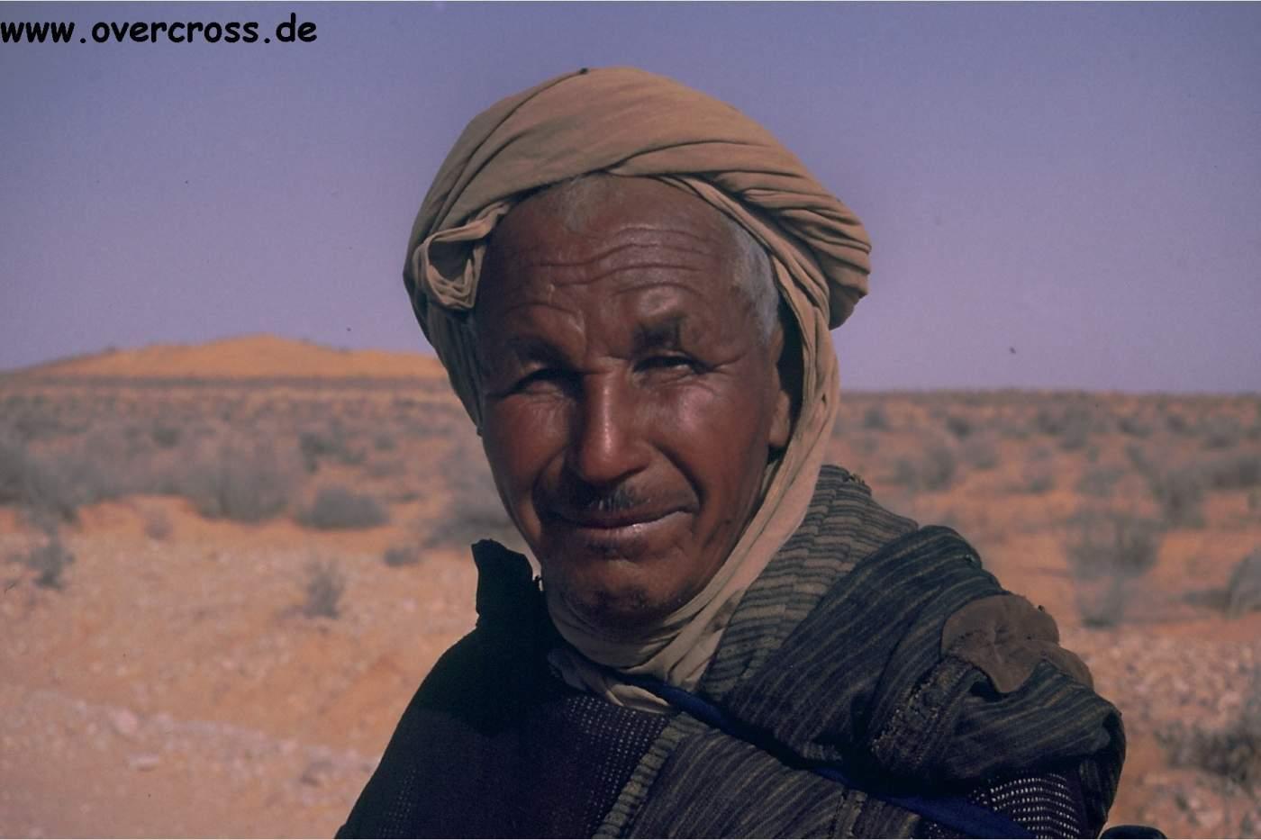 Tunesier getroffen auf Safari mit Overcross