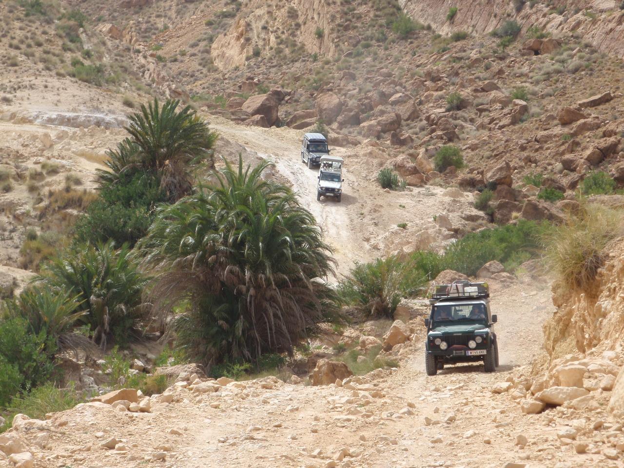 4x4 Tunesien Tour Nordafrika mit Overcross
