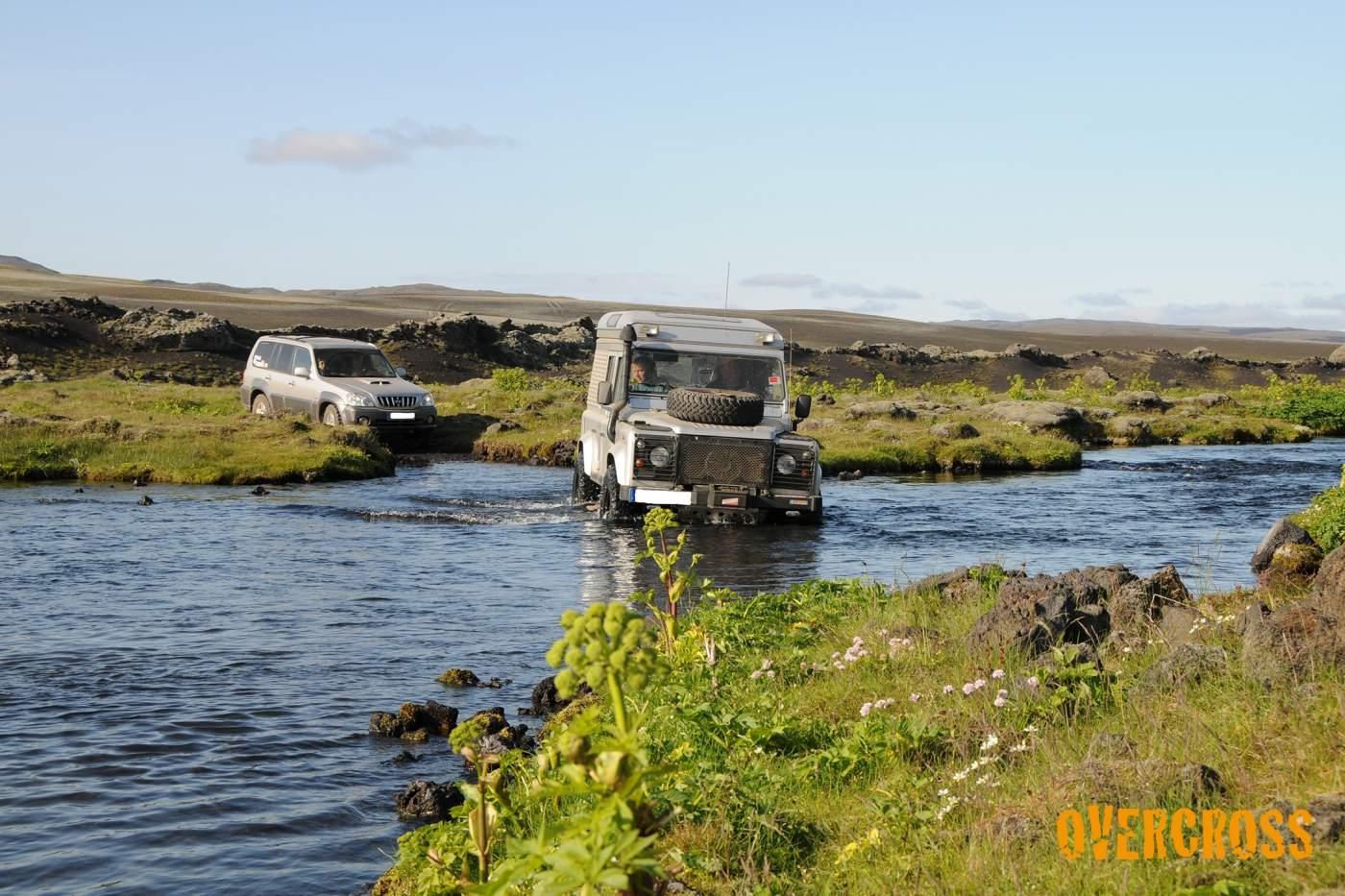 Geländewagen Offroad Island Overcross