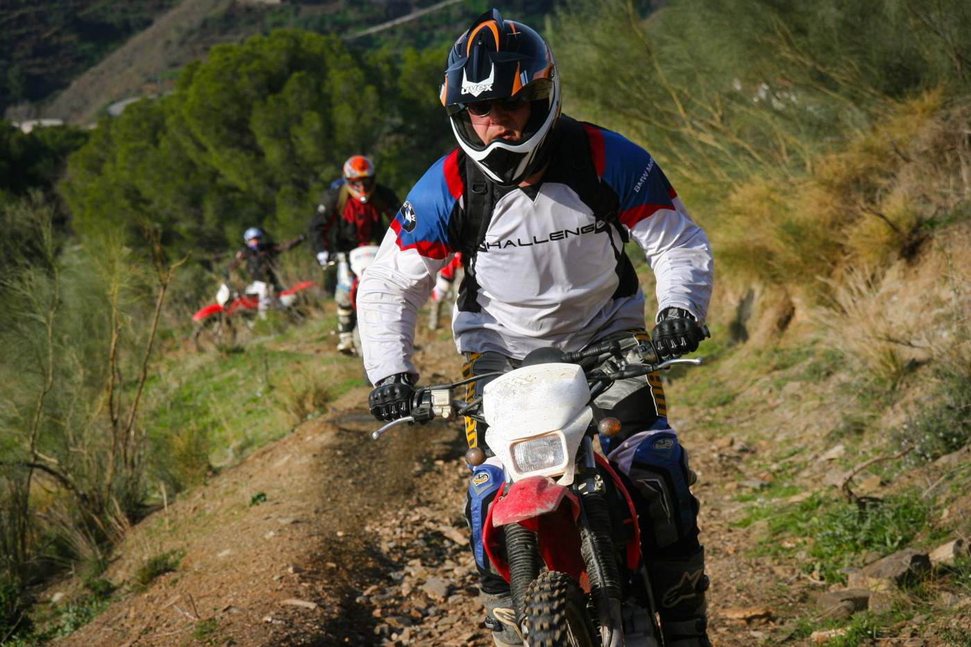 Motorrad Offroad Tour in Spanien - Andalusien