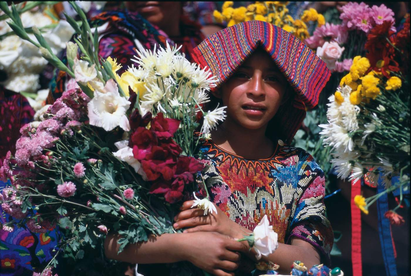Junge Guatemaltekin