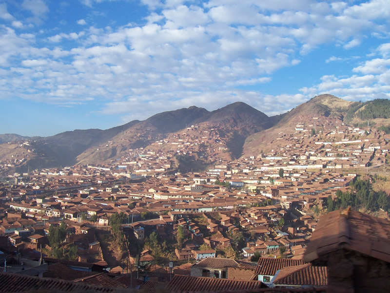 Cusco - Panorama, Peru