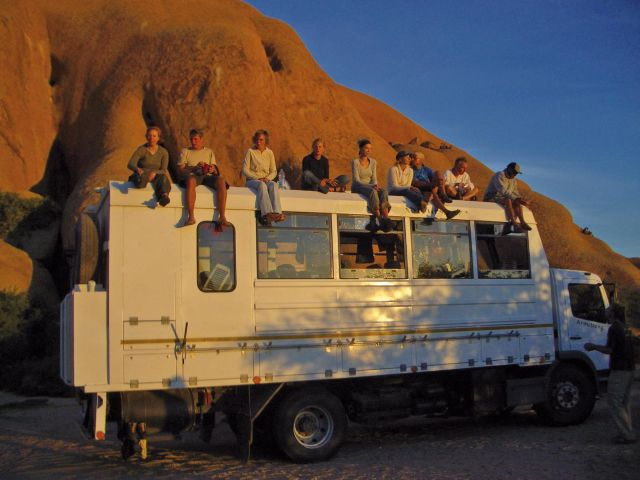 Safari  Overland Truck in Afrika