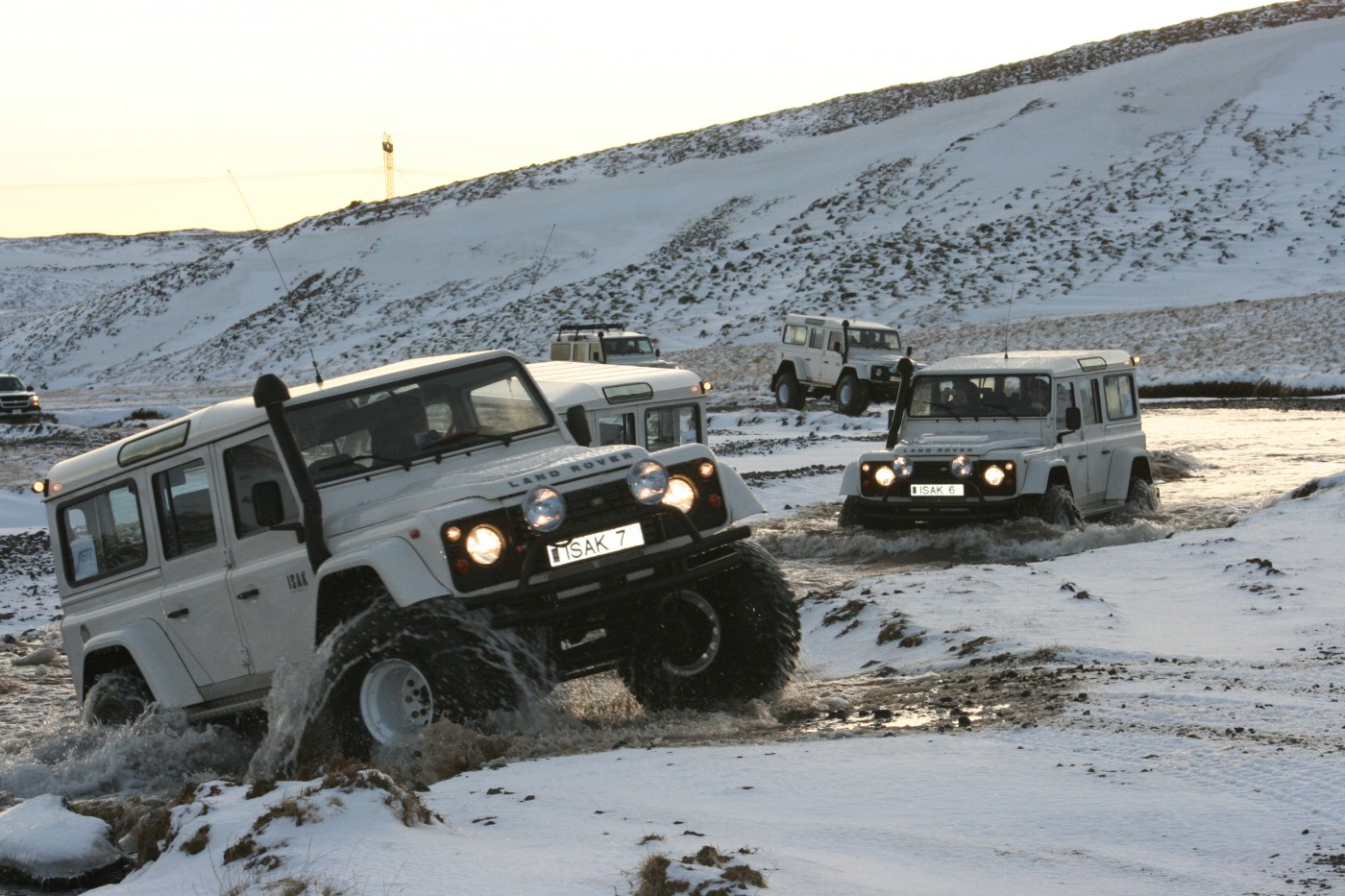 Iceland Land Rover Tours
